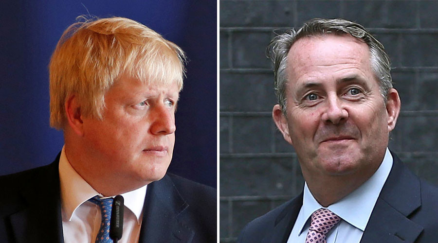 Boris outfoxed? Johnson & Fox squabble over trade diplomacy remit