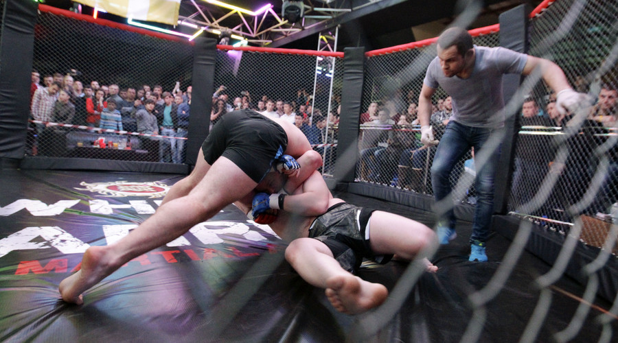 3 spectators shot during MMA event in south Russia