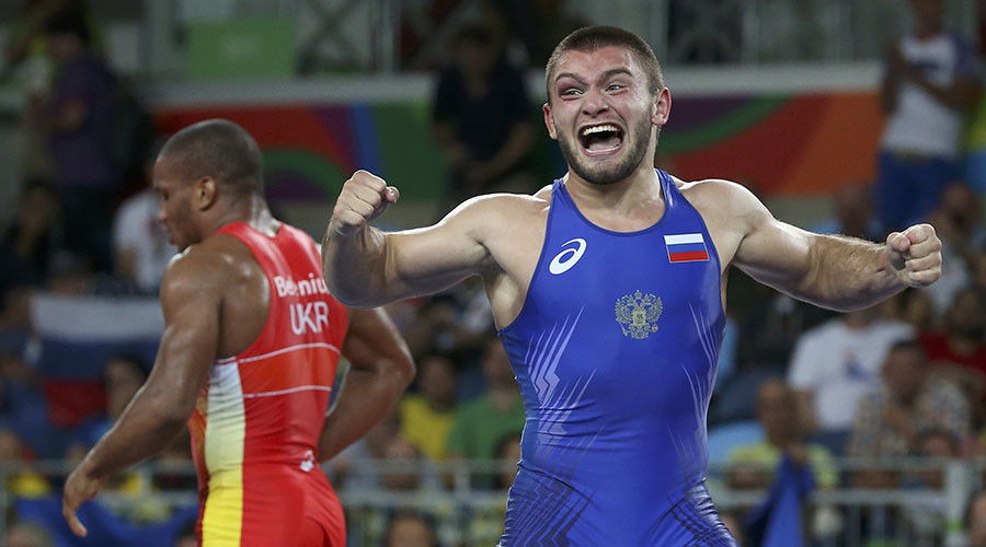 Greco-Roman wrestler Chakvetadze wins 10th gold for Russian in Rio