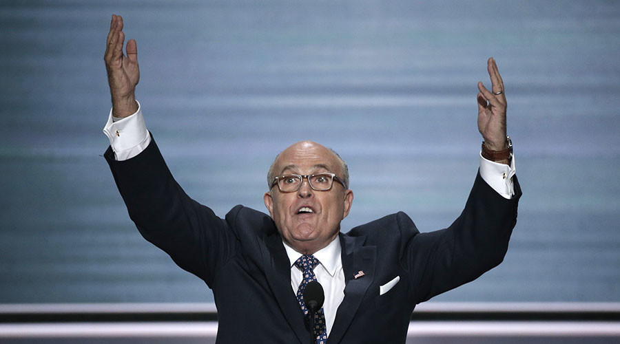 Rudy Giuliani breaks golden rule of 9/11: Never forget