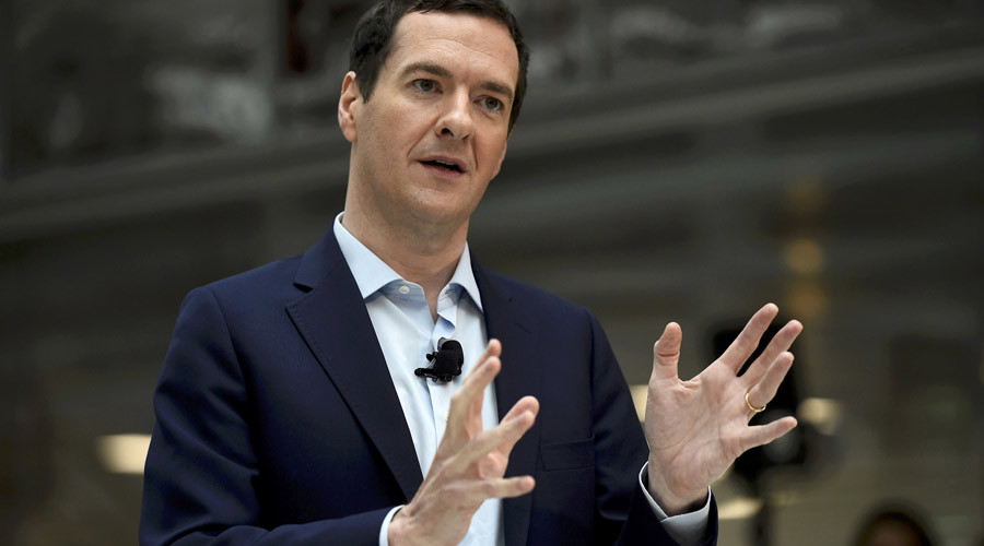 Britain's Chancellor of the Exchequer George Osborne © Dylan Martinez