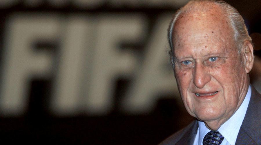 Joao Havelange, the President of FIFA © Ian Waldie