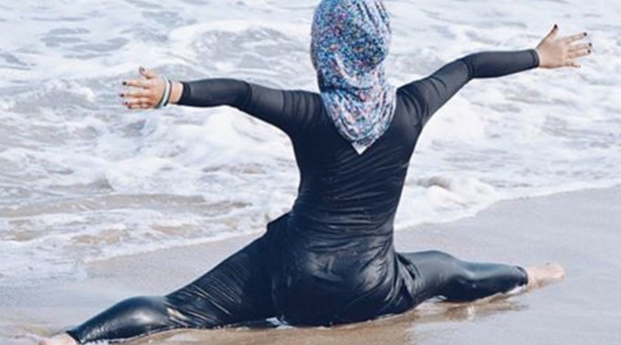 French women's rights minister defends ban on 'hostile' Muslim swimwear