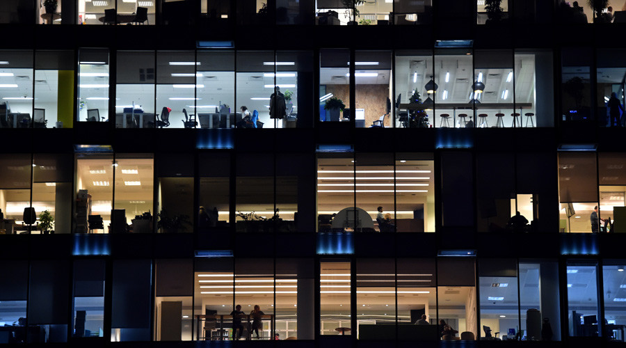 Employees in an office in Moscow © Kirill Kudryavtsev