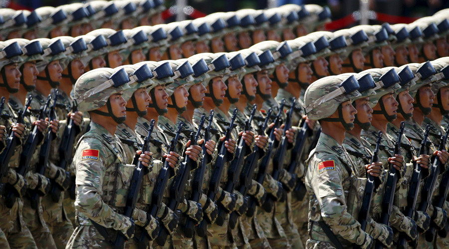 Soldiers of China's People's Liberation Army (PLA) © Damir Sagolj