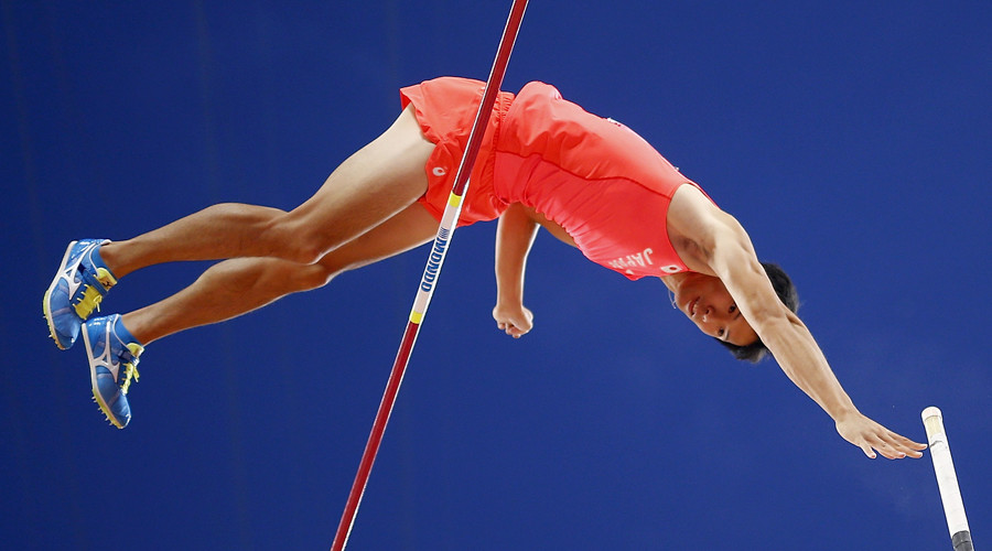 Ah nuts! Japanese pole vaulter crushes Olympic dream with own penis