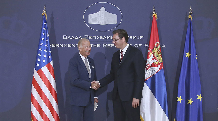 Serbian PM calls top advocate of Yugoslavia NATO bombing Biden a 'friend of country'