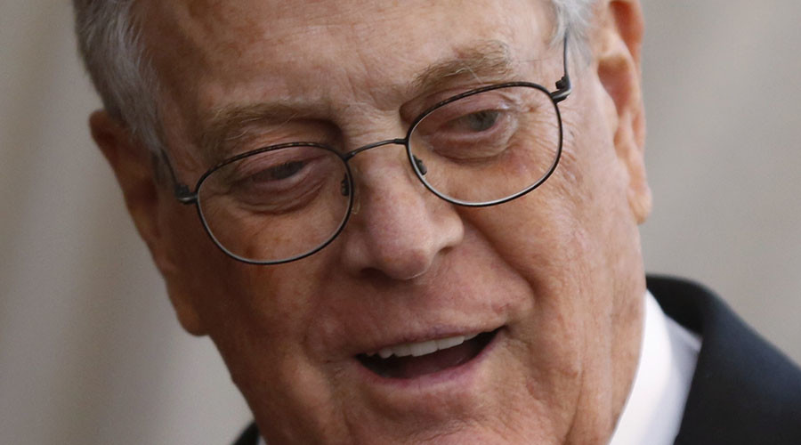 Businessman David Koch. © Lucas Jackson