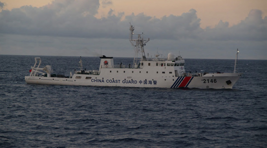Japanese Coast Guard video claims to show hundreds of Chinese ships near disputed Senkaku Islands