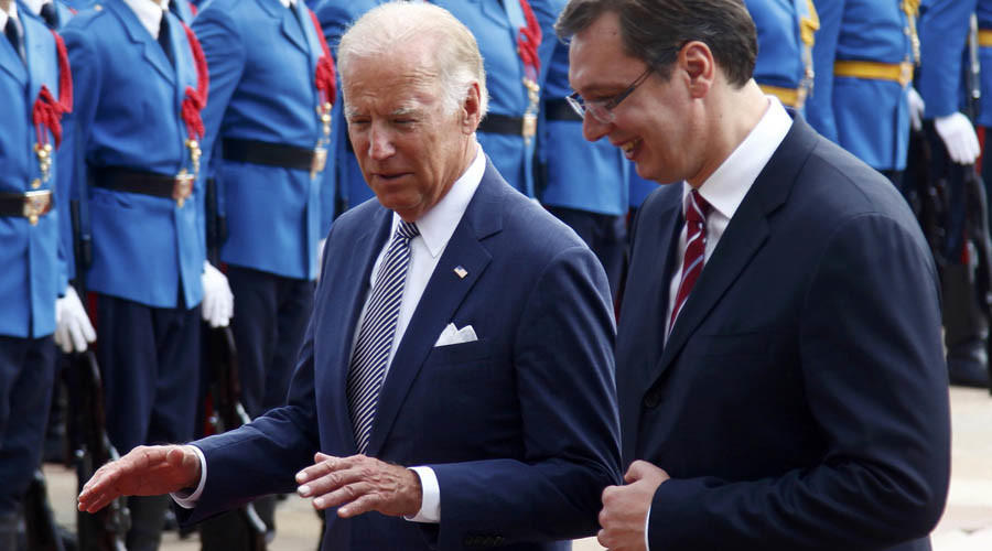 'Biden praising Serbia's European path – worrying development'