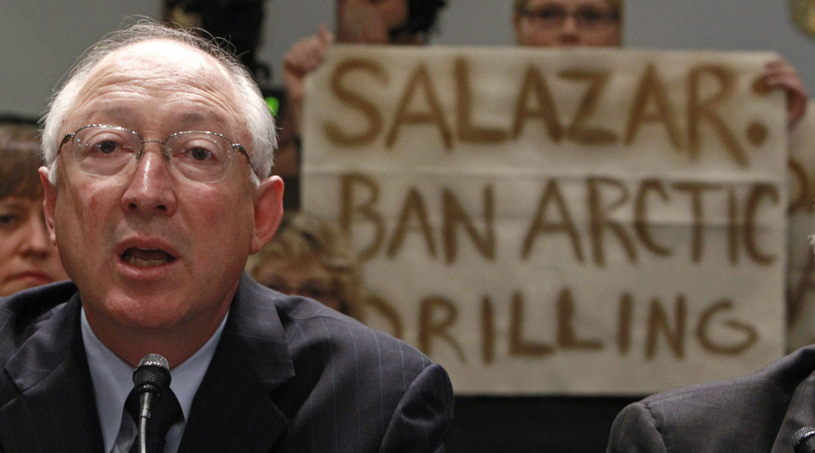 Ken Salazar, head of Hillary Clinton's transition team, if she wins. © Jim Young