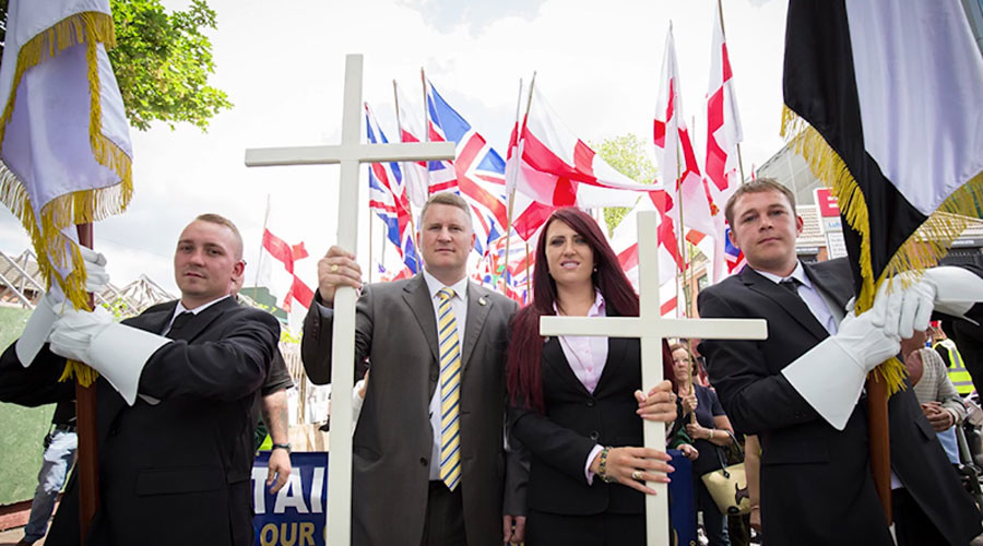 Far-right Britain First banned from every mosque in England & Wales