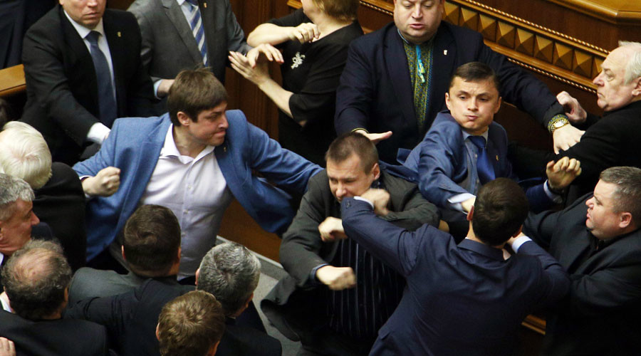 Deputies of Ukraine's Verkhovna Rada in session. © Grigoriy Vasilenko