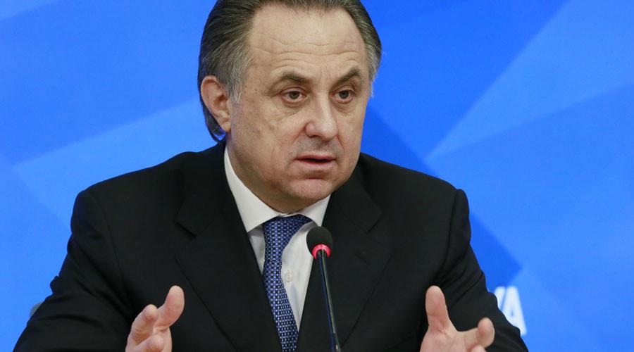 Russian Minister of Sport Vitaly Mutko © Alexander Natruskin