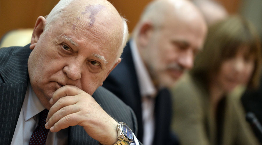 'West spreads its democracy like coffee in bags, but people need to make own choice' – Gorbachev