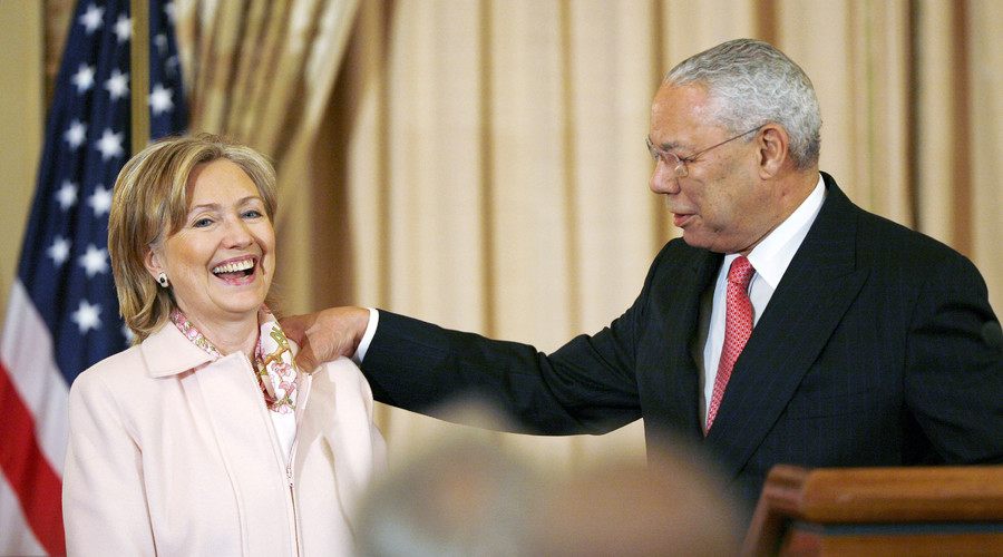 Hillary Clinton claims predecessor Colin Powell advised personal email usage – report