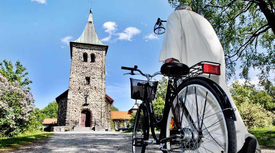 The Lutheran Church of Norway in Strommen near Oslo © Daniel Sannum Lauten