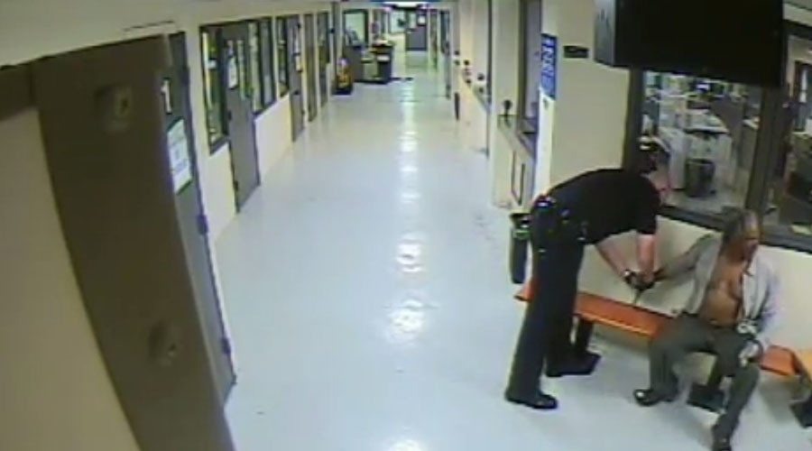 Dead in an hour: Video shows LA cops tasering grandfather who died in jail