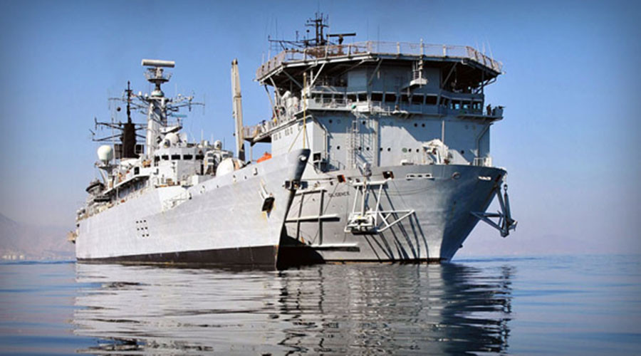 Royal Navy loses its only repair vessel to 'sensible & cost-effective' budget cuts