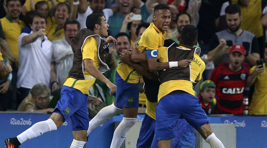 Neymar Brazil's hero as Olympic host wins football gold