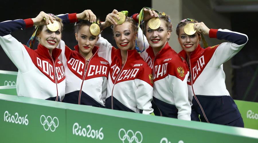 Gymnasts win gold in Rio to guarantee Russia 4th in overall standings