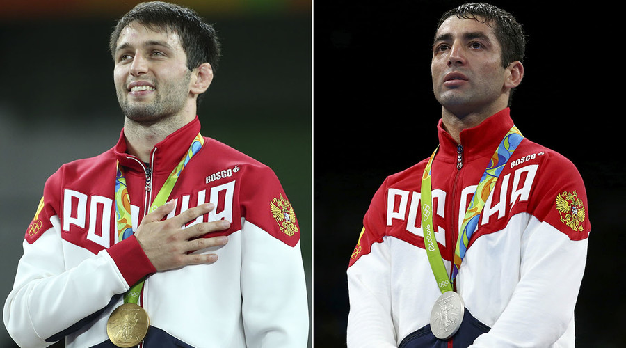 Wrestling and boxing bring Russia 2 last medals at Rio Olympics