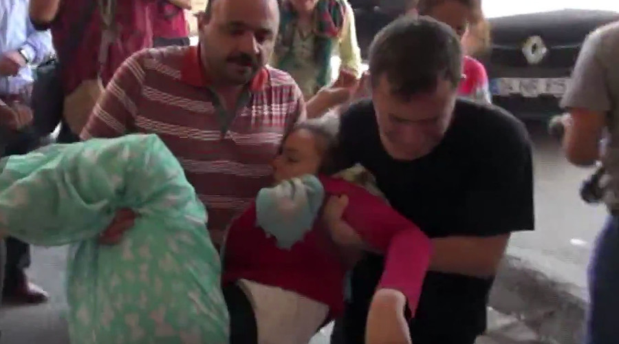 Bombed wedding: Surviving bride & groom re-admitted to hospital in Tukey (VIDEO)
