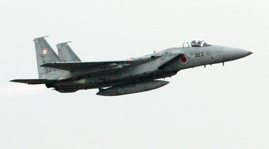 Japan Air Self-Defense Force's F-15 fighter © Toru Hanai