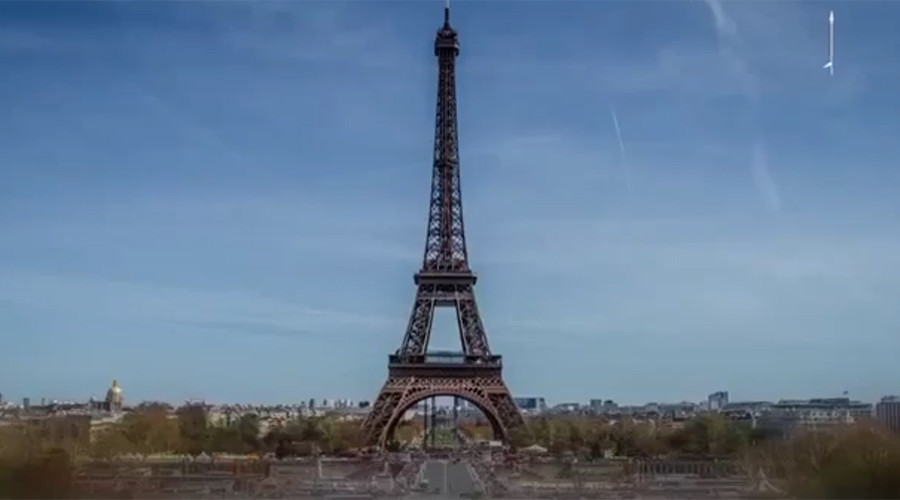 The Eiffel Tower is featured as a potential target