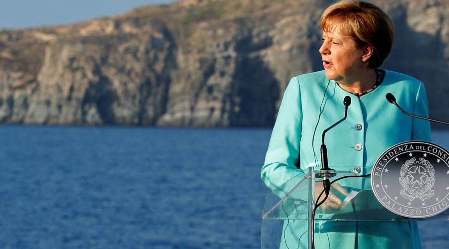German Chancellor Angela Merkel © Remo Casilli