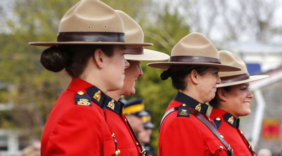 The Royal Canadian Mounted Police © Mark Blinch