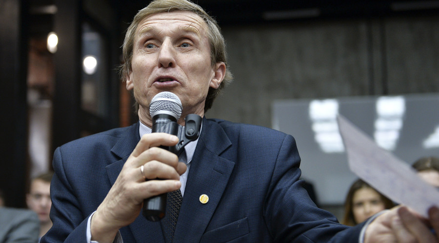 Vasily Melnichenko, chairman of the agricultural production cooperative Galkinsky. ©  Vladimir Pesnya