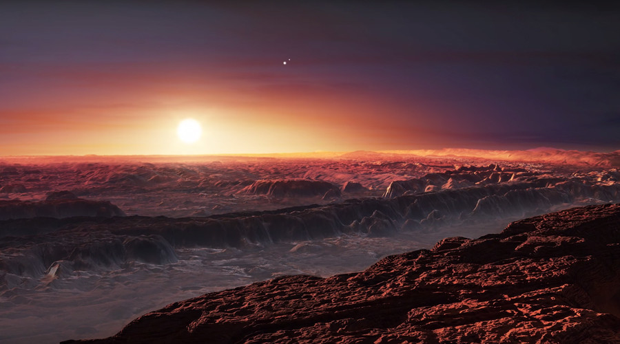 Proxima b is 1.3 times the size of Earth. © European Southern Observatory (ESO)