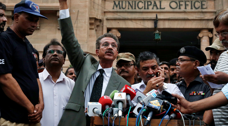 Karachi's mayor-elect to run city 'via video link from prison'