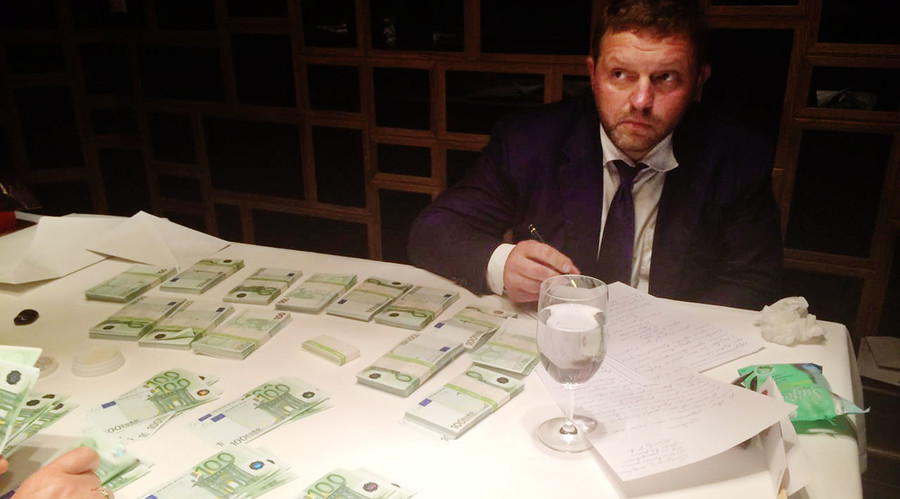 Kirov Region Governor Nikita Belykh was detained in a Moscow resturant on the evening of June 24. © Sputnik