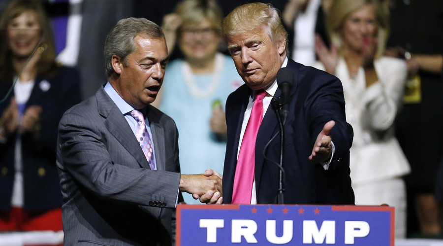 'Farage about openness, Trump – protectionism'