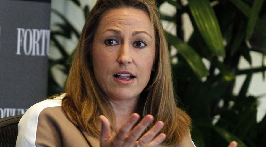 Heather Bresch, chief executive of Mylan, Inc. © Alex Gallardo
