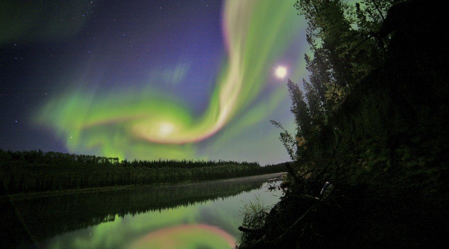 Lawnmower accidentally triggers Northern Lights alert