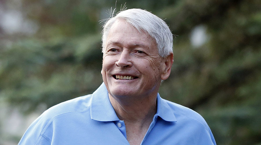 Chairman of Liberty Media John Malone. © Jim Urquhart
