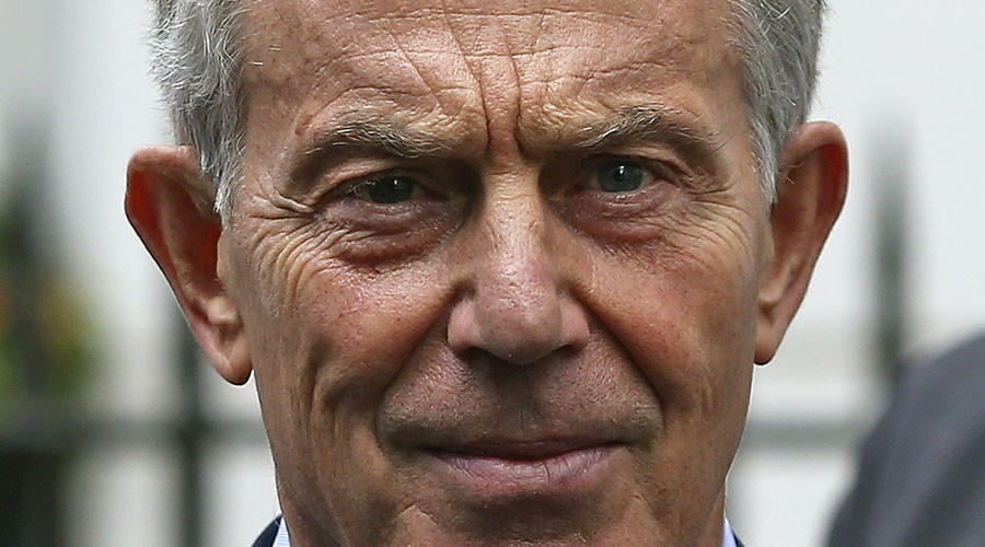 Former British Prime Minister Tony Blair. © Neil Hall