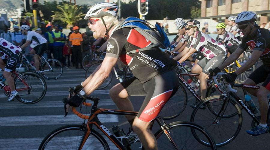 Billionaire Branson survives 'near death' high-speed bike crash in Caribbean (BLOODY PHOTOS)