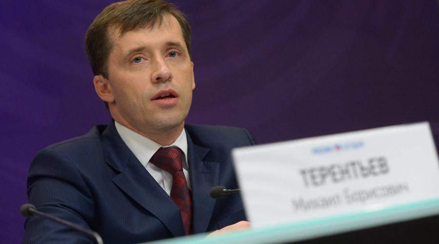 Mikhail Terentiev, chairman of the National Society for the Disabled ©Vladimir Trefilov