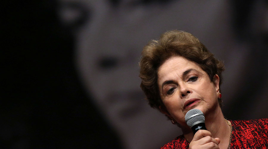 Noam Chomsky, Oliver Stone, Stephen Fry condemn Rousseff's impeachment
