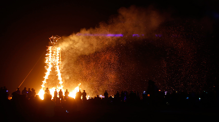 Burning Man festival celebrates its 30th birthday (PHOTOS, VIDEOS)