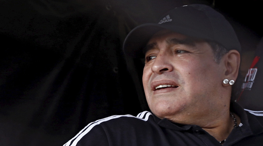 Maradona detained in 'fake passport' row