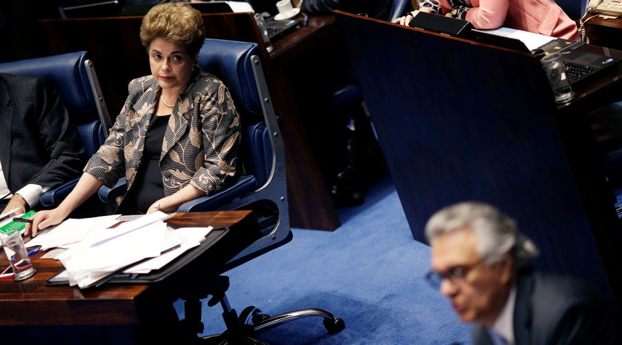 Brazil's Dilma Rousseff, a woman of honor, confronts Senate of scoundrels