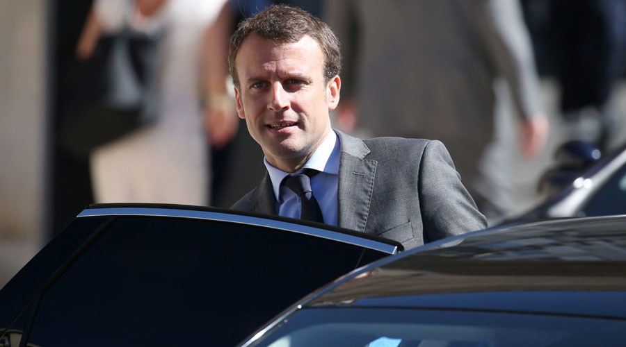 Emmanuel Macron © Charles Platiau