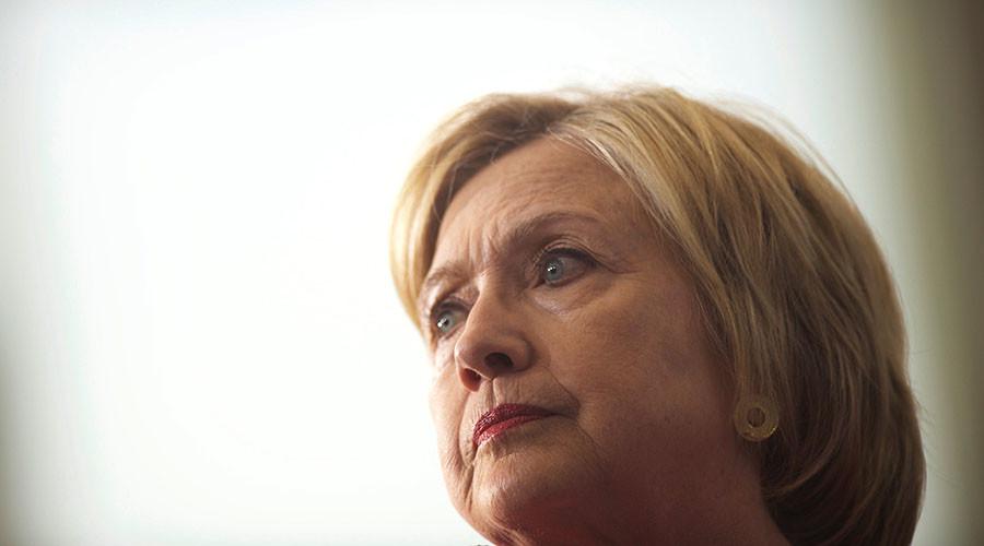 Democratic Presidential nominee Hillary Clinton. ©Mark Makela
