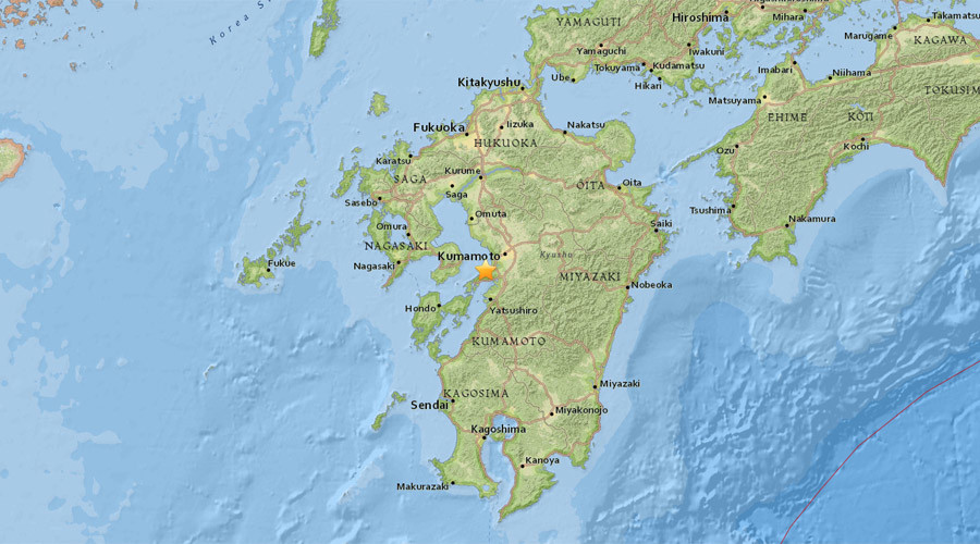 5.1 magnitude earthquake strikes Kumamoto prefecture, Japan