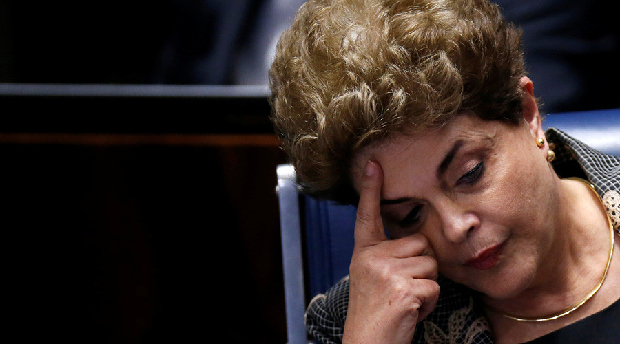 Brazil Senate votes 61-20 to impeach President Rousseff for breaking budget laws